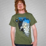 The Fall of Troy Squid Army Green T-Shirt