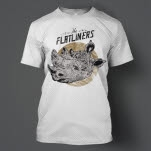 The Flatliners Rhino White T-Shirt