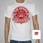 The Geeks Seoul Straight Edge White T-Shirt