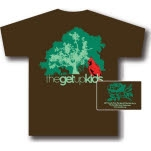 The Get Up Kids The Get Up Kids Tree Brown T-Shirt
