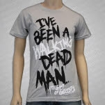 The Gift of Ghosts Deadman Silver T-Shirt