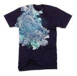 The Graduate Flourish Navy T-Shirt