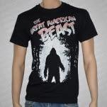 The Great American Beast Sasquatch Black T-Shirt