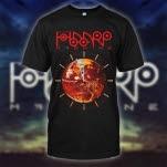 The HAARP Machine Earth Clock Black T-Shirt