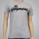 The Harrowing Scribble Logo Heather Gray T-Shirt