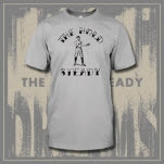 The Hold Steady Boxer Silver T-Shirt