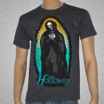 The Hollowed Holy Skeleton Dark Gray T-Shirt
