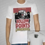 The Hollowpoints Bear White T-Shirt