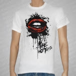 The Hottness Liplock White T-Shirt