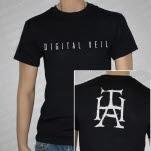 The Human Abstract Digital Veil Black T-Shirt
