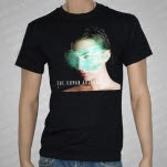 The Human Abstract Digital Veil Album Cover Black T-Shirt