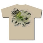 The Human Abstract Plane Monster Khaki T-Shirt