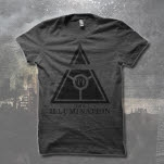 The Illumination Black Triangle Charcoal T-Shirt