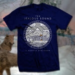 The Jealous Sound City On Fire Navy T-Shirt