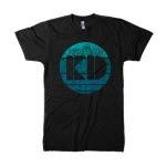 The KickDrums Circle Logo Black T-Shirt