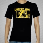 The Lawrence Arms Queen Black T-Shirt