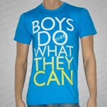 The Maine Boys Do What They Can Teal T-Shirt