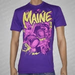 The Maine Cameras Purple T-Shirt