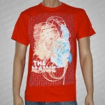 The Maine Head Phones Red T-Shirt
