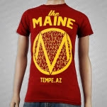 The Maine Tempe AZ Maroon T-Shirt