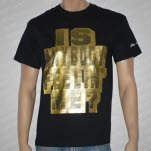 The Mongoloids Is Anybody Feelin Me Gold Foil Black T-Shirt