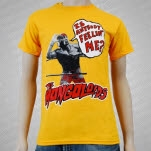 The Mongoloids Is Anybody Feeling Me Yellow T-Shirt