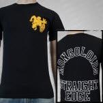 The Mongoloids Straight Edge Black T-Shirt