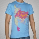 The Morning Light Flowers Light Blue T-Shirt