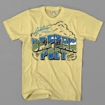 The Orphan    The Poet Greetings Honey Yellow T-Shirt