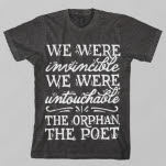 The Orphan    The Poet Lyrics Dark Heather T-Shirt