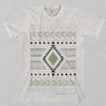 The Orphan    The Poet Pattern Ash Grey T-Shirt