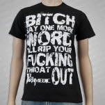 The Paramedic Rip Your Throat Out Black T-Shirt