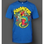 The Paramedic Snake Royal Blue T-Shirt
