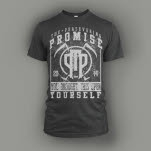 The Persevering Promise Yourself Dark Heather T-Shirt