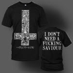 The Plot In You Cross Black T-Shirt