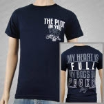 The Plot In You Captains Wheel Navy T-Shirt