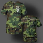 The Plot In You Icon Logo Camo T-Shirt