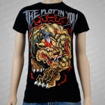 The Plot In You Stabbed Tiger Black T-Shirt