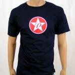 The Promise Ring Circle Star Logo Navy T-Shirt