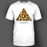 official The Ready Set Cheetah White T-Shirt