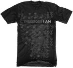 Therefore I Am Knobs Black T-Shirt
