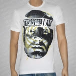 Therefore I Am Migraine White T-Shirt