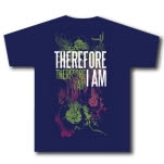 Therefore I Am Sea Life navy Blue T-Shirt