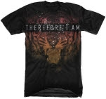 Therefore I Am Tiger Black T-Shirt