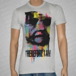 Therefore I Am The Sound of Human Lives Silver Gray T-Shirt