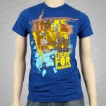 There For Tomorrow Stay Real Blue T-Shirt