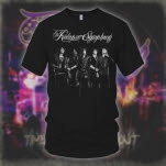 The Relapse Symphony Band Promo Black T-Shirt