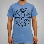 The Rocket Summer Arrow Tri Heather Atletic Blue T-Shirt
