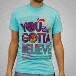 The Rocket Summer Believe Light Aqua T-Shirt