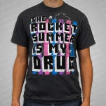 The Rocket Summer Is My Drug Charcoal T-Shirt